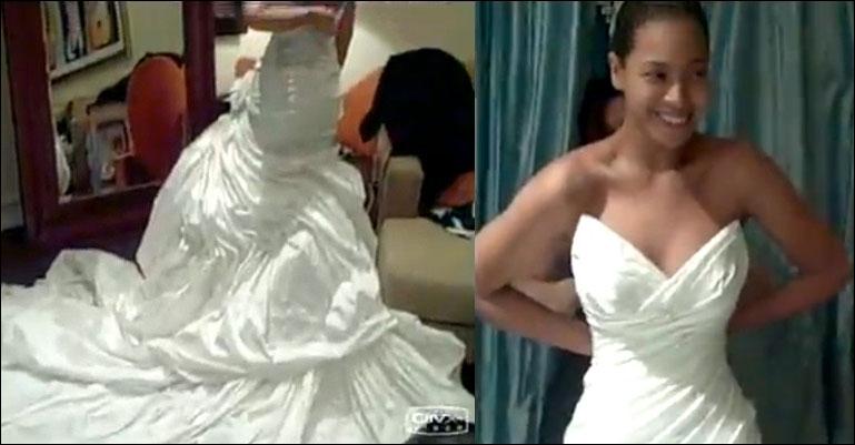 Qui a dessiné la robe de mariée de Beyoncé ?