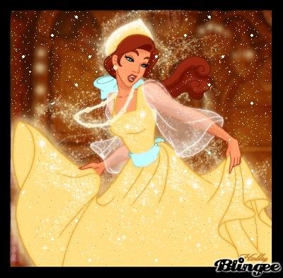 De quelle couleur est la robe d'Anastasia lorsqu'elle sort de la dite boutique ?