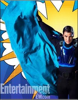 Saison 4 épisode 7 : Blaine se déguise en super héros. Comment s'appelle-t-il ?