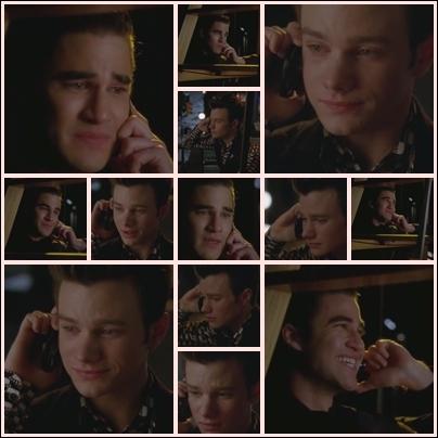 Saison 4 épisode 8 : Kurt appelle Blaine et lui dit qu'ils se reverront pour... . .
