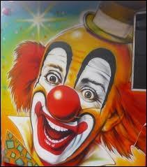 Qui avait peur des clowns quand il était petit ?
