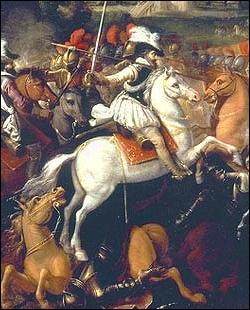 Quelle est la couleur du cheval blanc d'Henri 4 ?