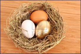 Entre un oeuf à la coquille brune et un autre à la coquille blanche, choisissez toujours celui à la coquille brune, c'est un signe de qualité supérieure !