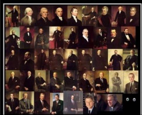 Barack Obama est le président actuel des USA. Combien y a-t-il eu de présidents avant lui ?