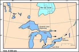 Les Grands Lacs d'Amérique du Nord forment un groupe de cinq vastes lacs, lequel se situe entièrement sur le territoire des États-Unis ?