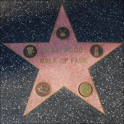 Qu'est-ce que 'The Walk of fame' ?