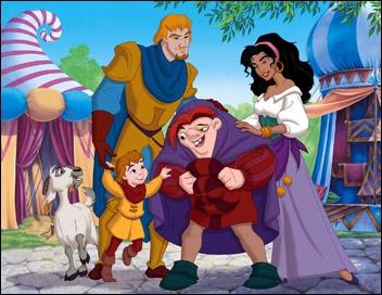 Avec qui Esméralda a-t-elle eu des enfants dans  Le Bossu de Notre-Dame 2  ?