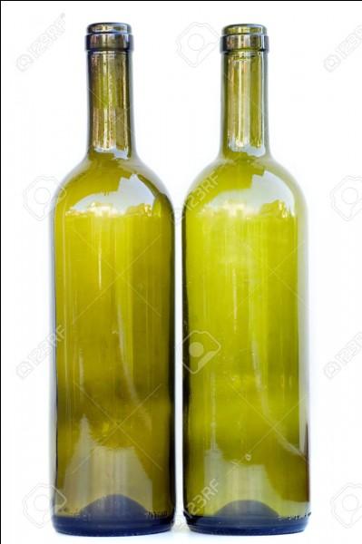 Et la palme revient à la bouteille en verre avec ... années pour disparaître :