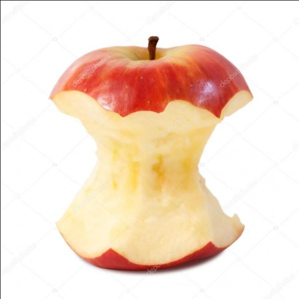 Combien de temps un trognon de pomme met-il pour se décomposer dans la nature ?