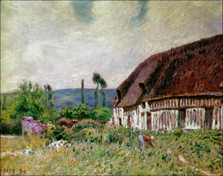 Qui a peint Ferme en Normandie ?
