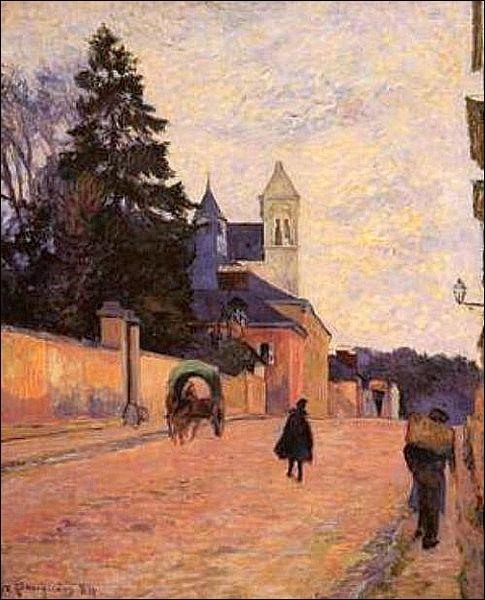 Qui a peint Rue à Rouen ?