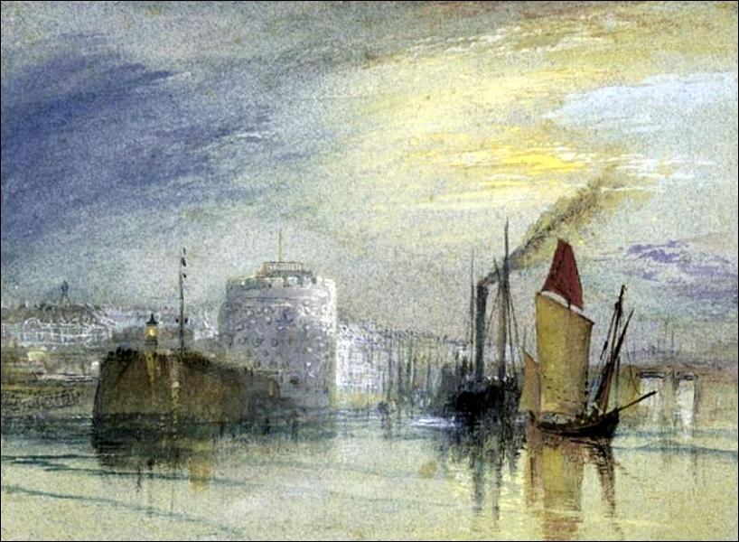 Qui a peint Le Havre Tour François 1e ?