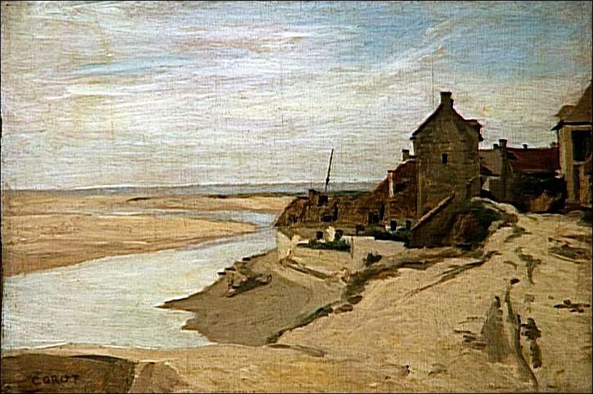 Qui a peint Maisons de pêcheurs à sainte-Adresse ?
