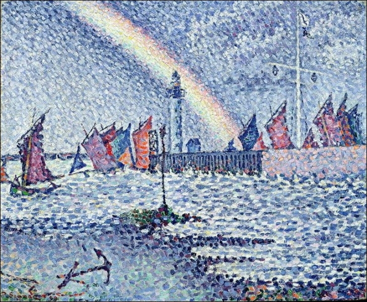 Qui a peint Entrée dans le port de Honfleur ?
