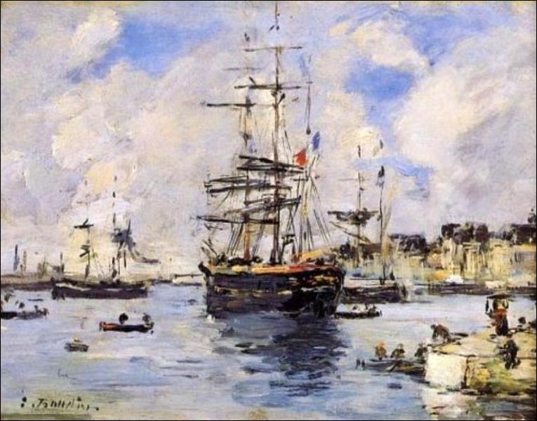 Qui a peint Avant Port du havre ?