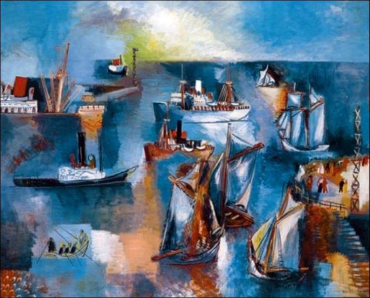 Qui a peint Bassin de la Manche le Havre ?
