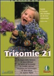 Une anomalie dans le nombre de chromosomes (23 paires normalement) est la cause de la trisomie 21. Quelle est cette anomalie ?