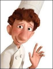 Que renverse Linguini lors de son premier jour de travail en cuisine ?