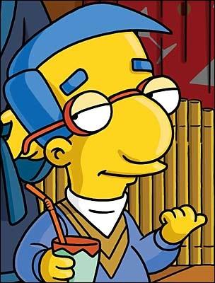 Comment s'appelle le copain de Bart ?