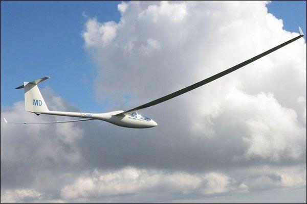 La vol à voile se pratique sur quel genre d'avion ?
