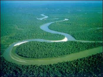 Sur quel continent se trouve l'Amazone ?