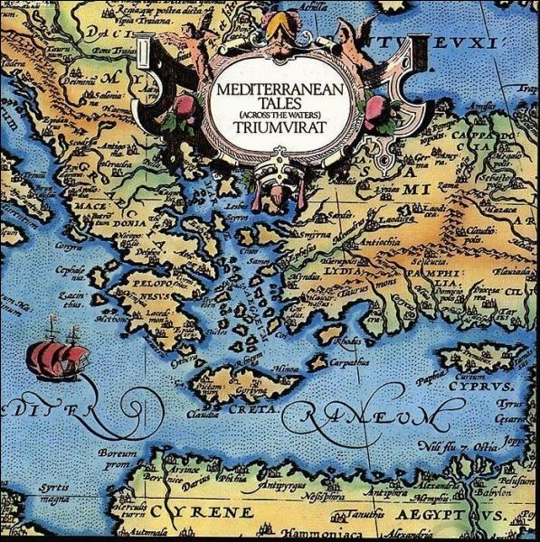 Dans la chanson  Across The Waters  du groupe allemand Triumvirat, quel célèbre compositeur a composé l'ouverture et la fermeture du morceau ?