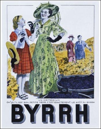 Le Byrrh est une boisson tonique créée en 1866 à Thuir :