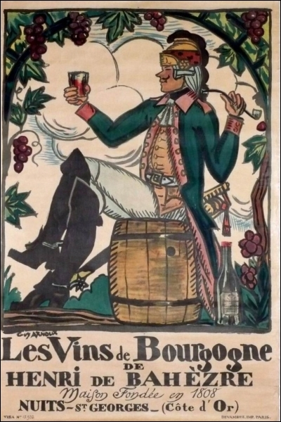 Publicité pour les grands vins de Bourgogne, lequel d'entre-eux n'en est pas un ?