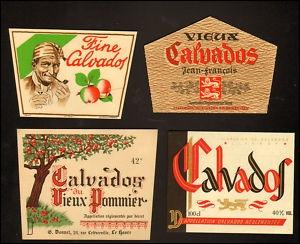 Avec quel fruit est confectionné le Calvados ?