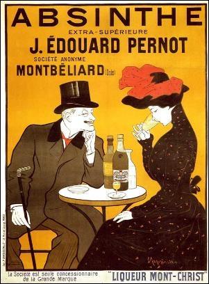 Durant quelle période l'absinthe a-t-elle été abolie en France ?