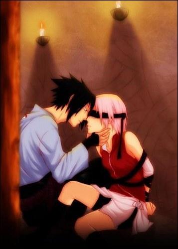 Sasuke est amoureux de Sakura :