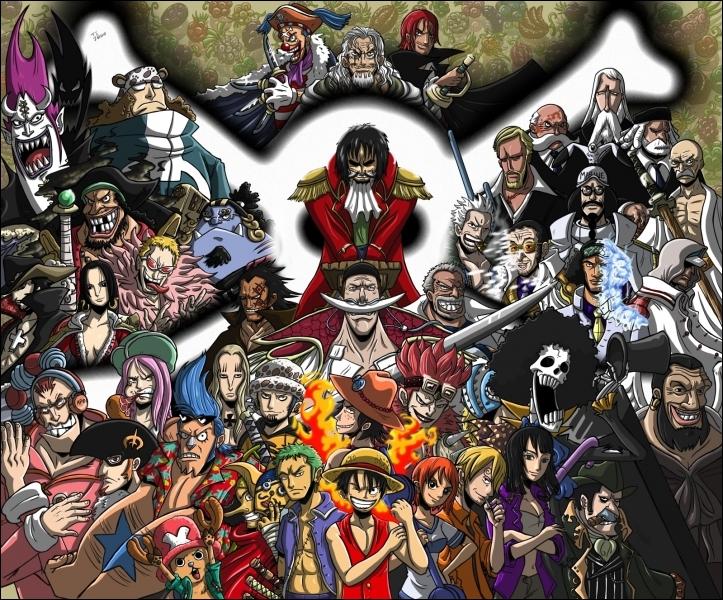 Quel est le personnage principal de One Piece ?