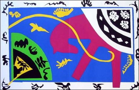 Qui a peint Cheval écuyère et clown ?