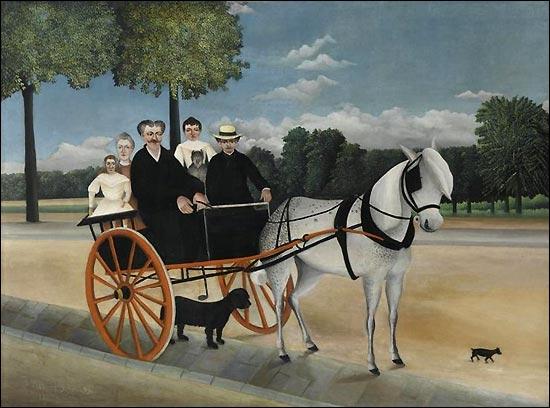 Qui a peint Cariole du Père Junier ?
