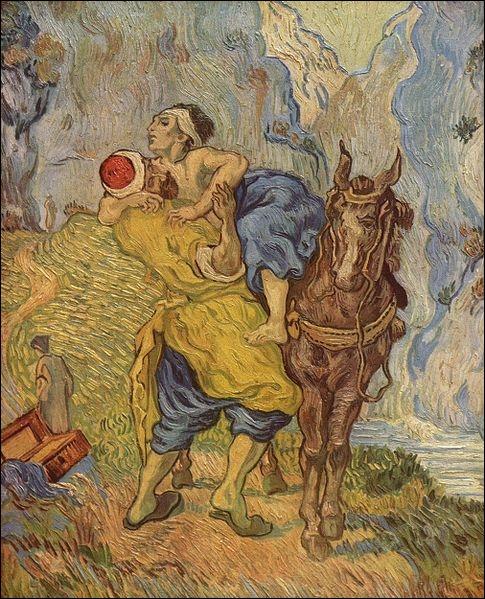 Qui a peint Le bon samaritain ?