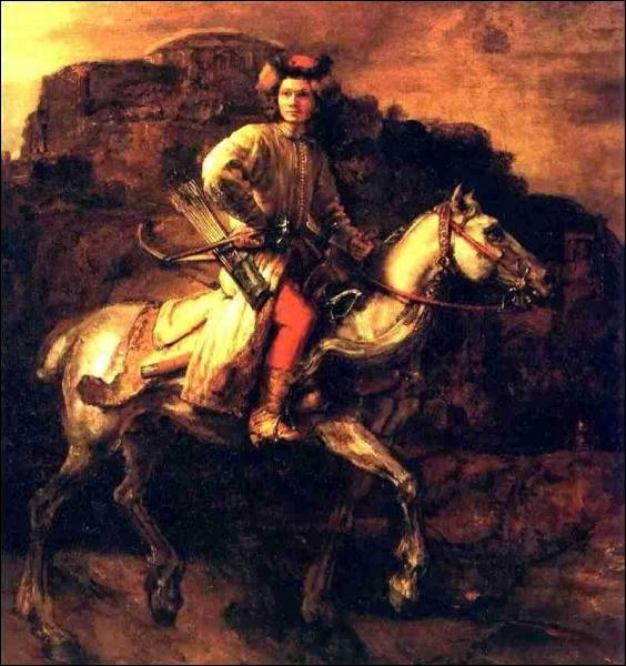 Qui a peint Cavalier polonais ?