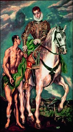 Qui a peint Saint Martin et le mendiant ?
