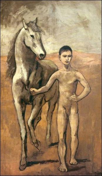 Qui a peint Garçon conduisant un cheval ?