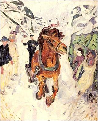 Qui a peint Cheval au galop ?
