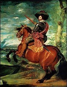 Qui a peint Portrait équestre du Comte Duc ?