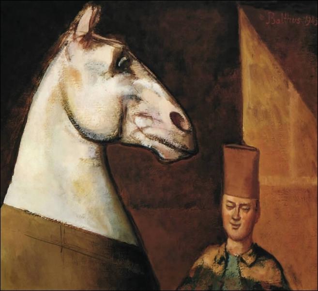Qui a peint Le saphi et son cheval ?