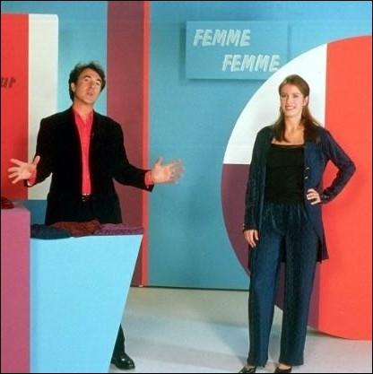 Dans le film   France Boutique  de Tonie Marshall en 2003, quelle forme d'émission est co-animé par Catherine Viard et François Cluzet ?