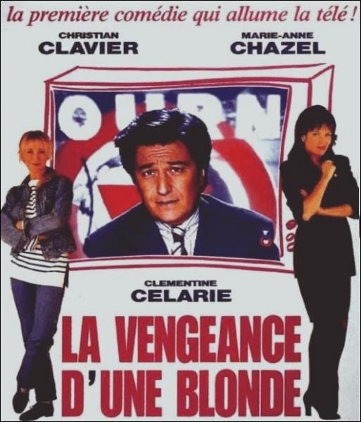 Qui incarne l'animateur de l'émission  Franc-jeux  une émission-vérité dans laquelle les stars du showbiz se mettent à nu, dans le film  La Vengeance d'une Blonde  ?