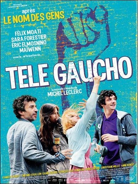Quelle actrice est à l'affiche du Film réalisé par Michel Leclerc  Télé Gaucho , film sur la vie d'une télé locale et indépendante dans les années 90 en France ?