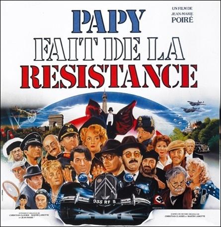 Dans le générique de fin de   Papy fait de la résistance   , quelle ancienne émission-débat de la télévision est parodiée par les acteurs du film ?
