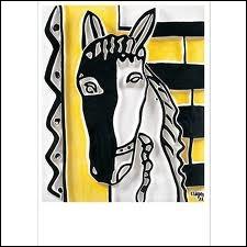 Qui a peint Tête de cheval ?