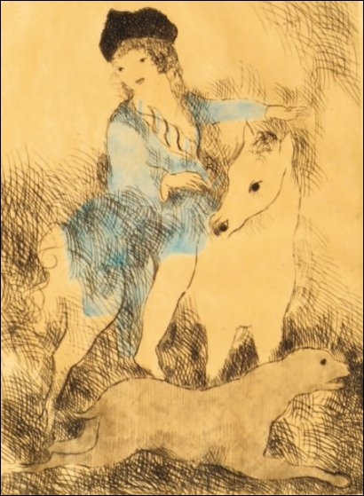 Qui a peint La promenade à cheval ?