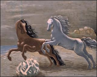 Qui a peint Chevaux en bord de mer ?