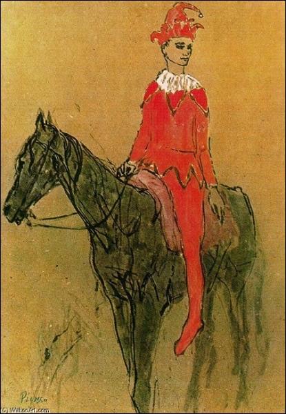 Qui a peint Arlequin sur un cheval ?