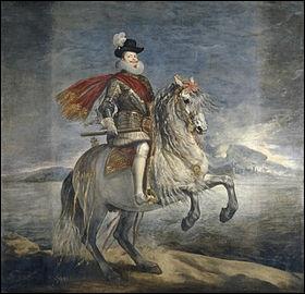 Qui a peint Philippe III à cheval ?